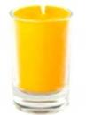 Sviečka 8 hod 5 cm - žltá