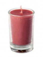 Sviečka 8 hod 5 cm - malinová