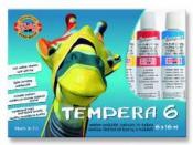 Temperové farby v tube - 6ks