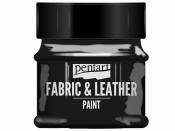 Farba na textil a kožu - 50ml - čierna