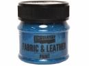 Farba na textil a kožu 50 ml - gliter modrá