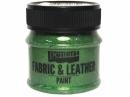 Farba na textil a kožu 50 ml - gliter zelená