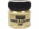 Farba na textil a kožu 50 ml - gliter zlatá