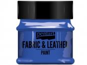 Farba na textil a kožu - 50ml - modrá