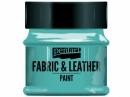 Farba na textil a kožu - 50ml - tyrkysová zelená