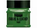 Farba na textil a kožu - 50ml - zelená