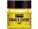 Farba na textil a kožu - 50ml - žltá