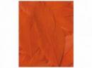 Aranžérske pierka hladké - 3g - oranžové