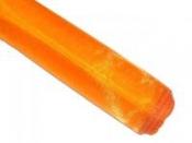 Dekoračná organza - oranžová