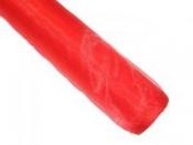 Dekoračná organza - červená