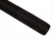 Dekoračná organza - čierna