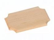 Drevená tabuľka 16x10cm - krojená
