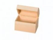 Drevená truhlica  - 15x10x11,5 cm