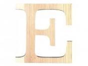 Drevené písmeno 11,5cm - E