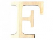 Drevené písmeno 11,5cm - F