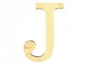Drevené písmeno 11,5cm - J