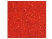 Filc 1mm 30x30cm s trblietkami - červený