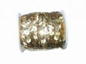 Flitre na šnúrke - zlaté