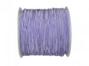 Klobúková elastická šnúrka 1,2mm - fialová