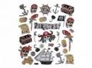 Kreatívne nálepky - piráti