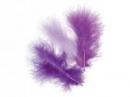 Marabu pierka - 15ks - fialové (orchidea)