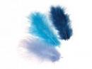 Marabu pierka - 15ks - tyrkysové