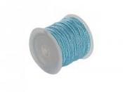 Mohérová šnúrka 2,5mm - svetlá modrá