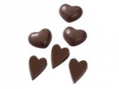 Odlievacia forma na čokoládu - srdiečka