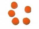 Plyšové POMPOM guličky 2cm - oranžové