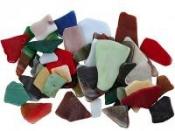 Sklenená mozaika - mix tvarov a farieb - 250g
