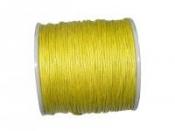 Vosková niť 1mm - žltá