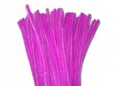 Žinilkový drôt 6 mm - purpurový