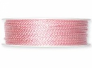 Točená šnúra 2mm metalická - baby ružová