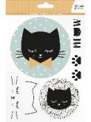 Transférové nálepky na textil - Mačičky