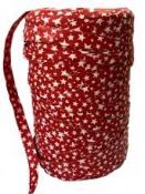 Vianočná umelá stuha 9 mm - červená