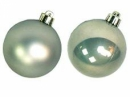 Vianočná sklenená guľa 2,5 cm - pastelová zelená matná
