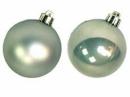 Vianočná sklenená guľa 2,5 cm - pastelová zelená lesklá