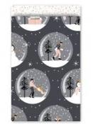 Vianočné papierové vrecko 17 x 25 cm Magical Christmas