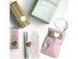 Glitrovaná špirálovacia stužka 10mm- glamour ružová