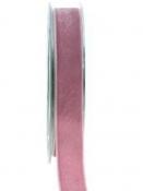 Obojstranná zamatová stuha 15mm - staroružová
