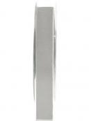 Obojstranná zamatová stuha 15mm - sivá