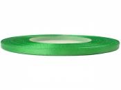 Saténová stuha - 3mm - zelena