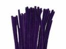 Žinilkový drôt 6 mm - tmavý fialový