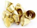 Kovový zvonček 2cm - zlatý